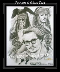 Portraits de Johnny Depp