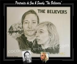 Portraits ''The believers'' (Jon & Sandy)